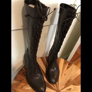 Vintage Lumiani Italian leather riding boots
